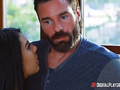 Gina Valentina and Lela Starr took a handsome guy home and h...