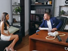 A horny boss, Scott Nails and a hot bitch, Gianna Dior are f...