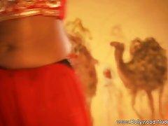 Красивая девушка из Индии в сари показывает мастурбацию и женский оргазм