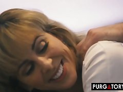 Cherrie Deville is a horny blonde woman who likes to get spi...