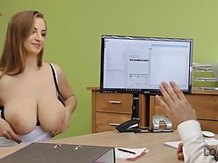Suzie is a big titted cock teaser who is often licking ass a...