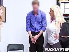 Kylie Kingston and Natalie Knight were caught shoplifting, s...