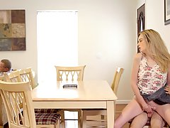 Amateur blonde, Lexi Lore is getting banged harder than ever...