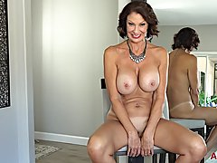 Super hot mature with big, firm boobs, Vanessa Videl is abou...