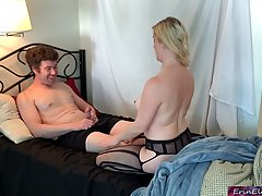 Horny man is having amazing sex with his best friend's voluptuous wife and getting blowjobs from her