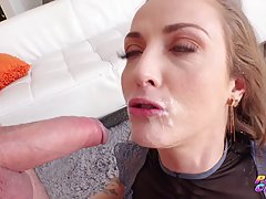 Anal sex loving blonde, Karla Kush is getting her daily dose...