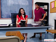 Reagan Foxx is a slutty, mature professor who likes to have ...
