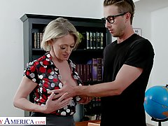 Dee Williams is a dirty minded blonde teacher who likes to h...
