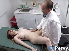 Red haired babe, Hannah Grace is having casual sex with her ...