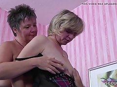 Немецкие женщины сексом с человеком который только что перее...