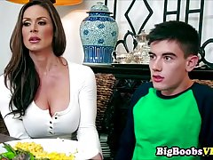 Busty milf, Kendra Lust is about to have sex with her best f...