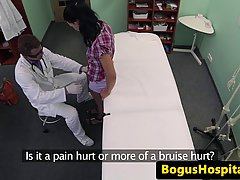 Доктор нагло трахнул сексуальную пациентку