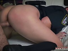 Police lady with a big ass is getting fucked from the back, ...