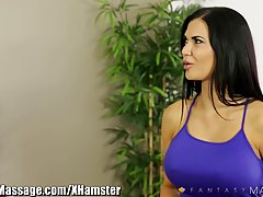 Amazing brunette milf, Jasmine Jae got down and dirty with h...