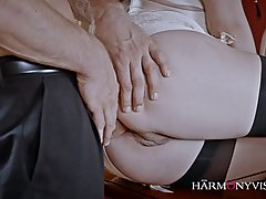 Petite Russian brunette is up for some anal fucking, she&...